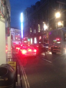 PIccadilly Circus/Theatreland traffic