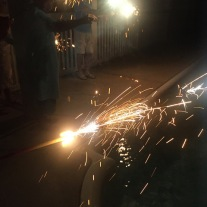 Second sparkler sendoff