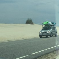 Beach road!